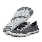 Men's Barefoot Mesh Water Shoes // Gray (US: 10)