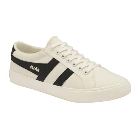 Varsity Shoes // Off White + Black (US: 7)