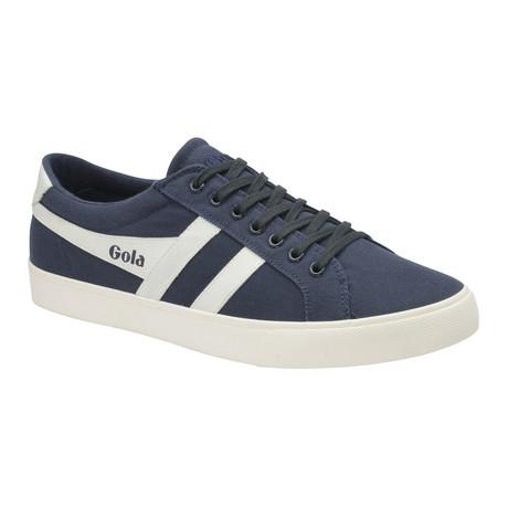 Varsity Shoes // Navy + Off White (US: 7)