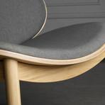 Danica Lounge Chair // Wheat Gray