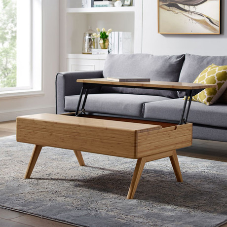 Rhody Lift Top Coffee Table (Caramelized)