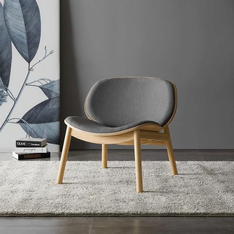 Danica Lounge Chair (Wheat Gray)