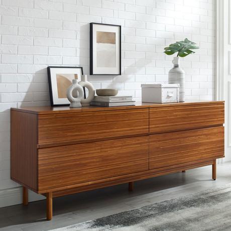 Ventura Double Dresser // 4 Drawer