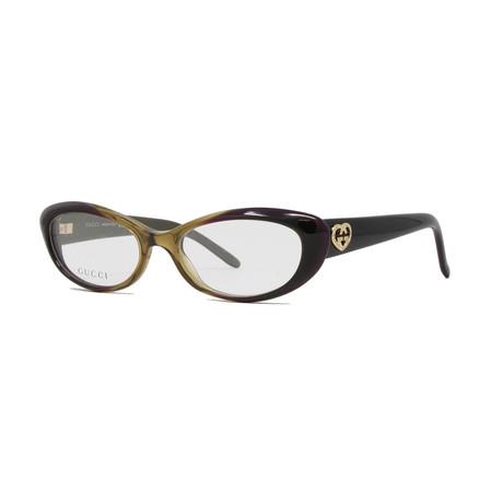 Women's GG3515 Optical Frames // Brown + Purple + Olive