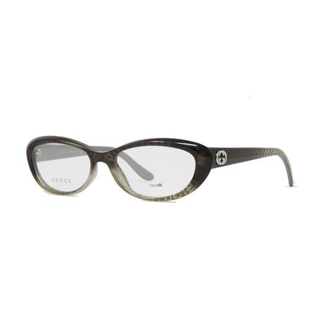 Women's GG3566 Optical Frames // Gray + Silver