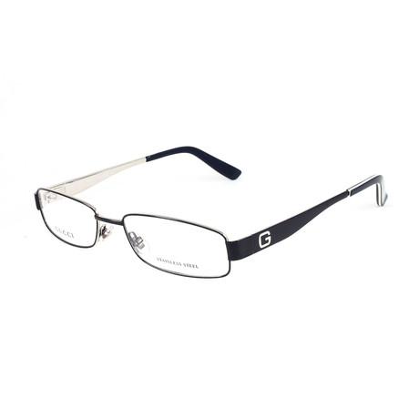 Unisex GG1939 Optical Frames // Blue + Palladium (Size 52-16-145)
