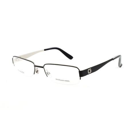 Men's GG1938 Optical Frames // Matte Black + Matte Silver