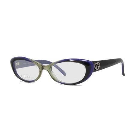 Women's GG3515 Optical Frames // Green + Violet