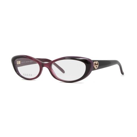 Women's GG3515 Optical Frames // Cherry + Burgundy