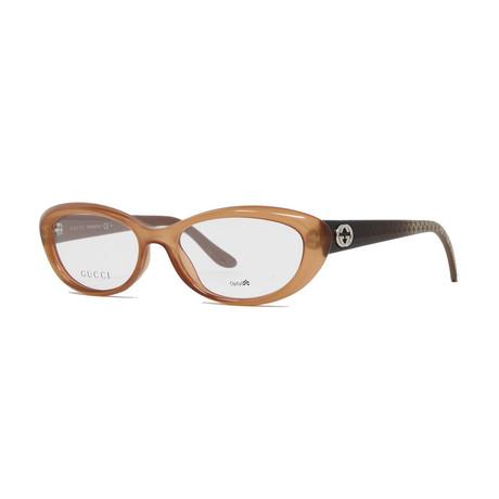 Women's GG3566 Optical Frames // Peach