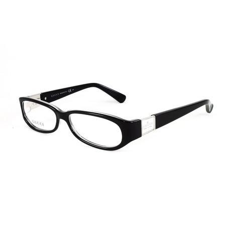 Women's GG3134 Optical Frames // Black + Ice Crystal