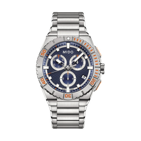 MIDO Ocean Star Chronograph Quartz // M023.417.11.041.00 // New