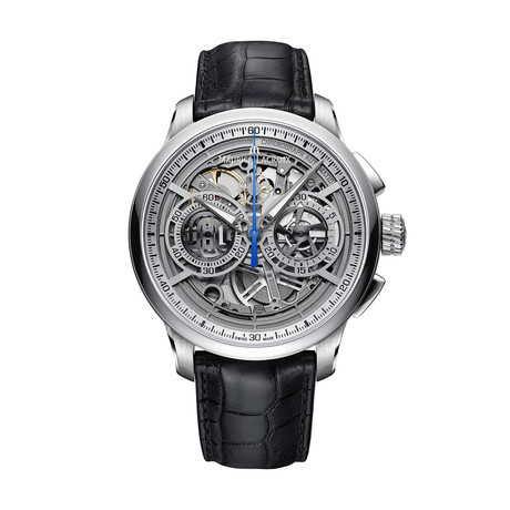 Maurice Lacroix Masterpiece Chronograph Skeleton Automatic // MP6028-SS001-001-1 // Store Display