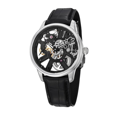 Maurice Lacroix Masterpiece Skeleton Automatic // MP7228-SS001-000 // Store Display