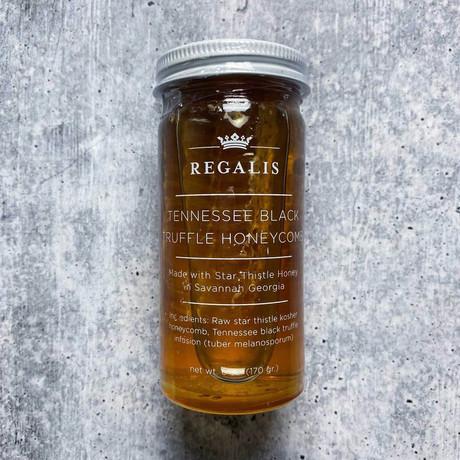 Winter Black Truffle Honey + Comb (3 oz)