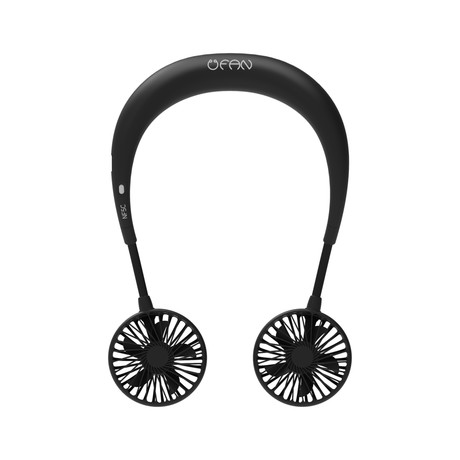 Blueberry Neck Band Fan NF5C (Black)