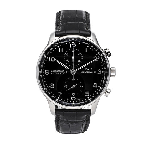 IWC Portugieser Chronograph Automatic // IW3714-47 // Pre-Owned