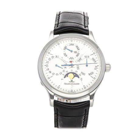 Jaeger-LeCoultre Master Perpetual Calendar Automatic // Q149842A // Pre-Owned