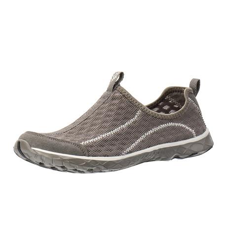 Men's XDrain Cruz 1.0 Water Shoes // White + Gray (US: 7)