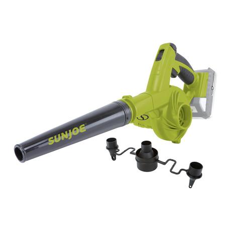 Sun Joe // 24-Volt iON+ Workshop Blower + Vacuum Kit