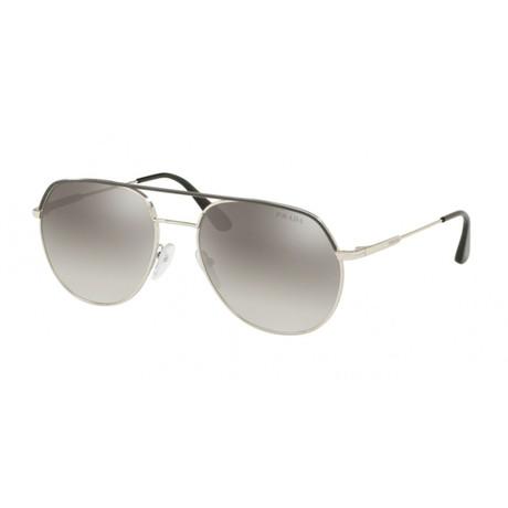 Men's PR55US-3295O057 Fashion Sunglasses // Matte Gunmetal + Gray Gradient