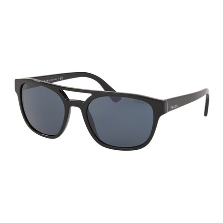 Women's PR23VSF-1AB0A9 Sunglasses // Black + Blue
