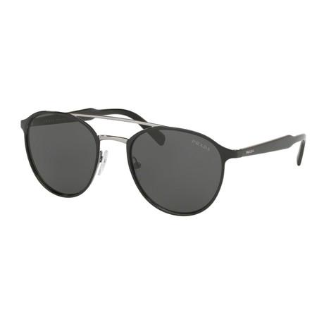 Women's PR62TS-YDC5S0 Sunglasses // Black + Gunmetal