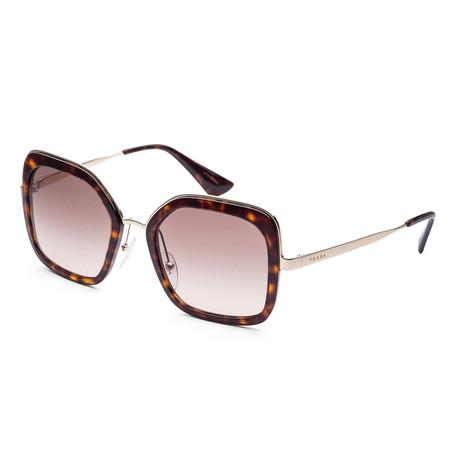 Women's PR57US-2AU3D054 Fashion Sunglasses // Havana + Brown Gradient