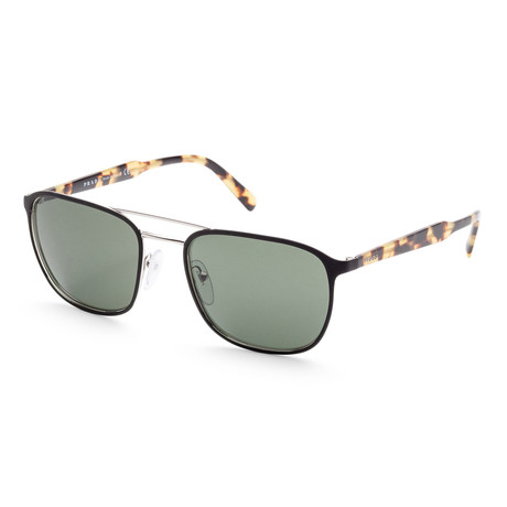 Men's PR75VS-5240B256 Sunglasses // Matte Black + Havana + Green
