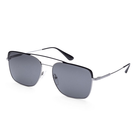 Men's PR53VS-M4Y5S059 Fashion Sunglasses // Black + Gunmetal + Gray