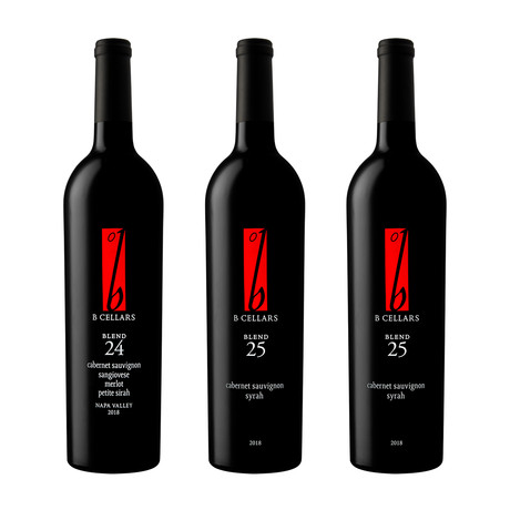 Triple Reds // Double Red Blend 25 + Single Red Blend 24