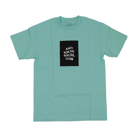 ASSC Box Logo T-Shirt // Teal (S)