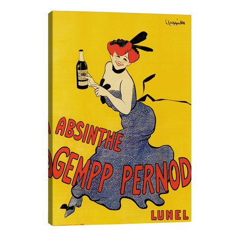 Cappiello Abinsthe Gemp Pernod // Vintage Apple Collection