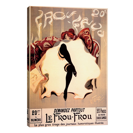 "Le Frou Frou // Vintage Apple Collection (26""W x 40""H x 1.5""D)"