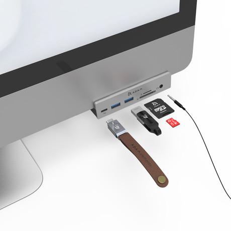 CASA HUB i8 USB-C 3.1 // 8 Port Hub // iMac & iMac Pro