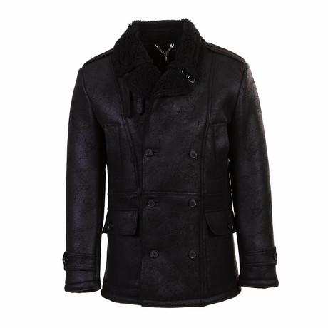 Milo Wool Coat // Black (Euro: 46)