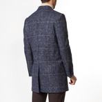 Grayson Wool Coat // Dark Blue (Euro: 46)
