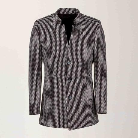 Dante Wool Coat // Black (Euro: 46)