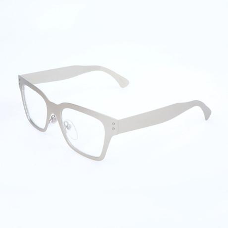 Women's America HXQ Optical Frames // Silver