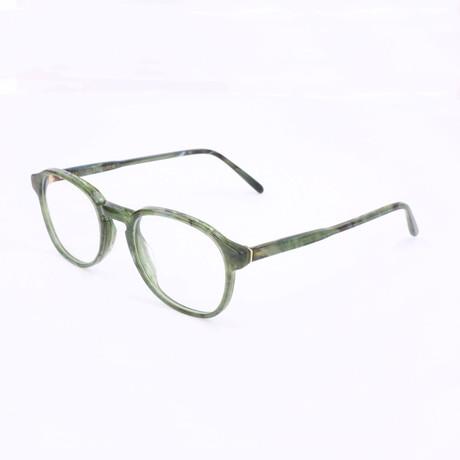 Unisex N. 02 Pietra TG8 Optical Frames // Green