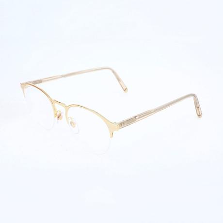 Women's N. 38 Oro X5D Optical Frames // Gold