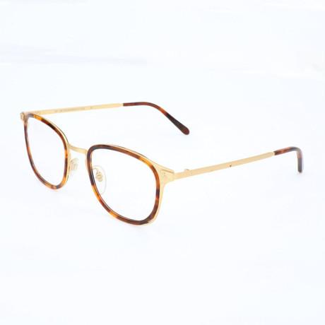 Men's N. 21 Oro J08 Optical Frames // Havana