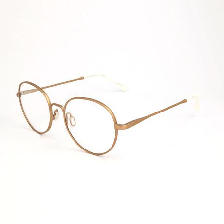 Men's N. 16 QTE Optical Frames // Gold