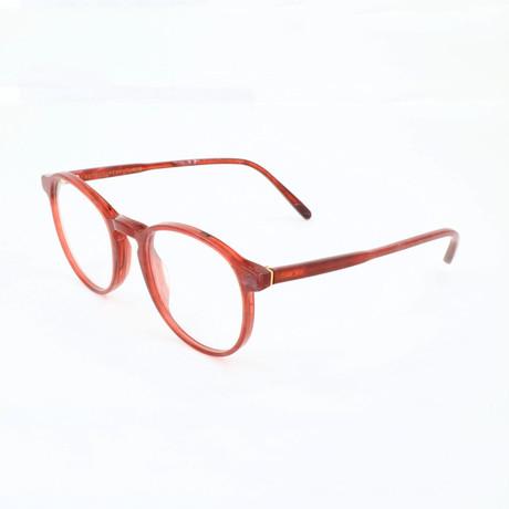 Unisex N. 01 Pietra 9VV Optical Frames // Red