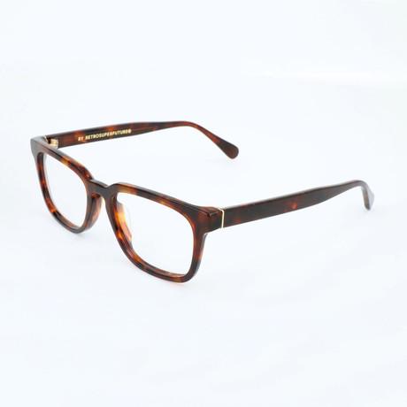 Unisex Numero 25 Classic CTE Optical Frames // Havana