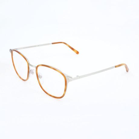 Men's N. 21 Argento 90L Optical Frames // Silver