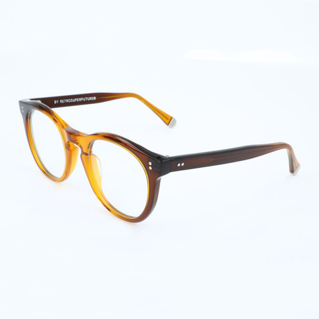 Unisex Numero 28 0BU Optical Frames // Brown