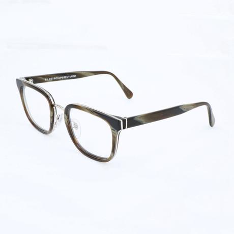 Unisex N. 23 Corno 5B9 Optical Frames // Brown