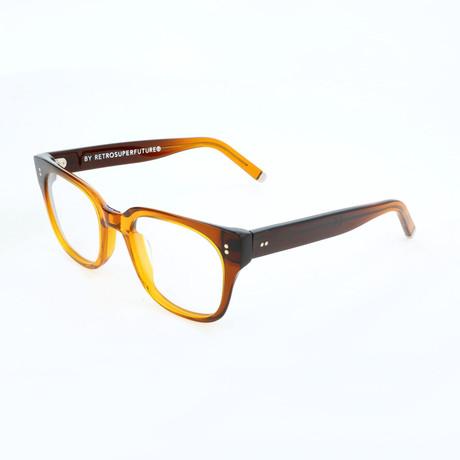 Unisex N. 8 4CC Optical Frames // Brown