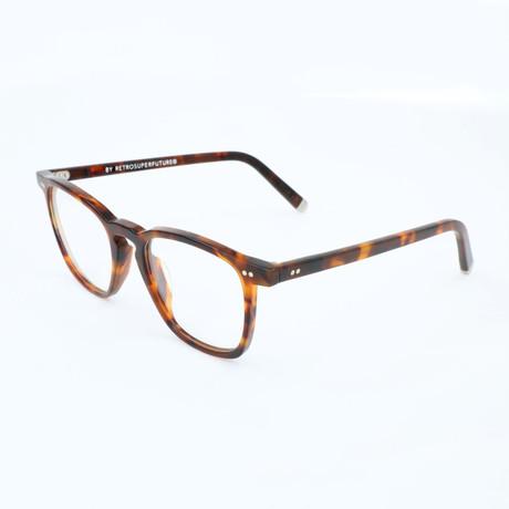 Unisex Numero 35 FS0 Optical Frames // Havana